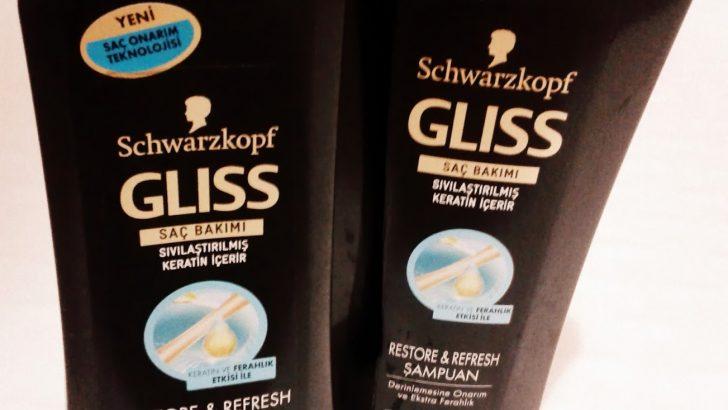 Gliss Şampuan Restore & Refresh