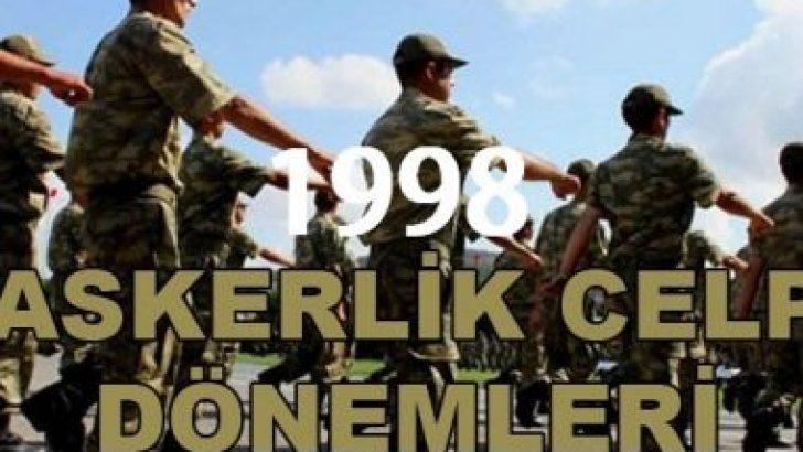 1998 Doğumlular Ne Zaman Askere Gidecek?