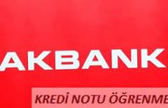 Kredi Notu Sorgulama Akbank