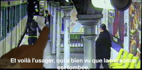Metroda tuhaf hırsızlık